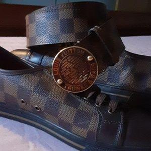 Louis Vuitton belt/shoes